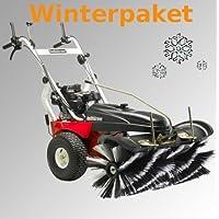 Tielbürger Kehrmaschine tk48 Pro Winterpaket inkl. Schneebürste Schneeschild Winterreifen