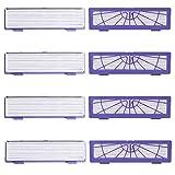 Momola 8PCs Accessoires de filtres haute performance pour aspirateurs Neato 70e /...