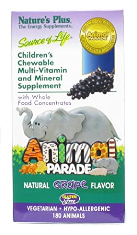 Children's Chewable Multi-Vitamin and Mineral Supplement - Nature's