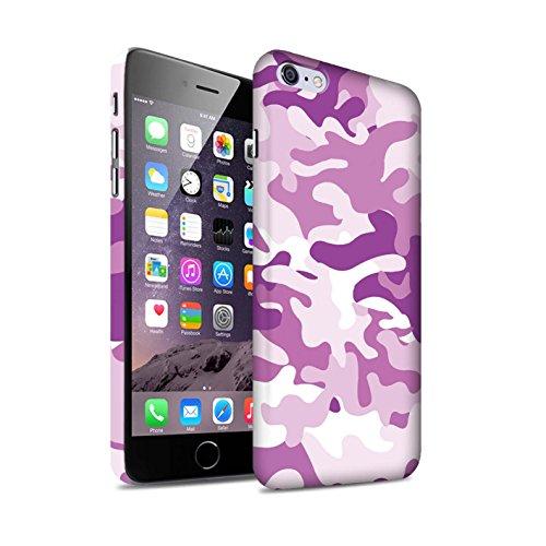 Clipser Matte Coque de Stuff4 / Coque pour Apple iPhone X/10 / Vert 3 Design / Armée/Camouflage Collection Rose 1