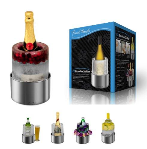 Enfriador botellas vino hielo botella champán Fine