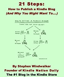21 Steps: How to Publish a Kindle Blog (And Why You Might Want To....) (Download Instantly to Your PC, iPhone, iPod Touch, iPad, BlackBerry, Kindle or Other Kindle App!) (English Edition)