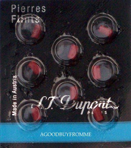 st-dupont-lighter-flints-red-ligne-d-packet-of-8