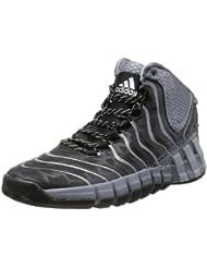 adidas - Zapatillas de baloncesto para hombre Negro Grau / Schwarz