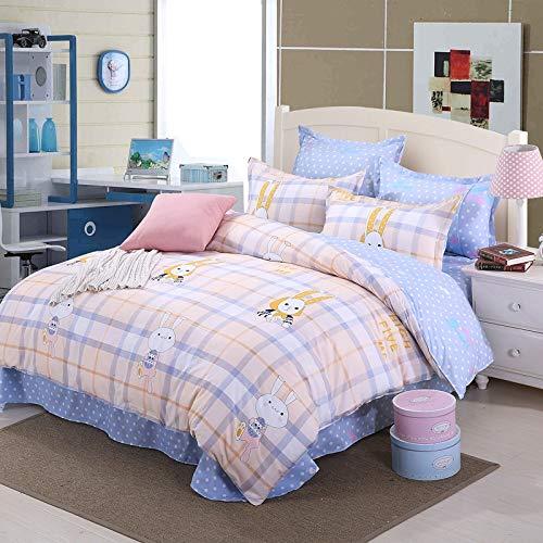 huyiming bed linings Verwendet für Heimtextilien Bettwäsche-Set von Vier AB-Version des Schleifbett-Pakets 2.0Bed vierteiliger Bettbezug200 * 230 -