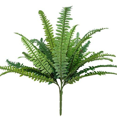 LOVIVER Grünes Künstliches Pflanzen Farn Persisches Blatt Blumen Büro Haus Garten - 39 Blätter - Persischen Garten Blumen