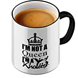 Funtasstic Tasse I m not a Queen I am Khaleesi - Kaffeepott Kaffeebecher by StyloTex