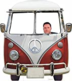 Photocall Coche Volkswagen Hippie 1,50x1,70cm   Photocall Divertido para Bodas, Cumpleaños,...
