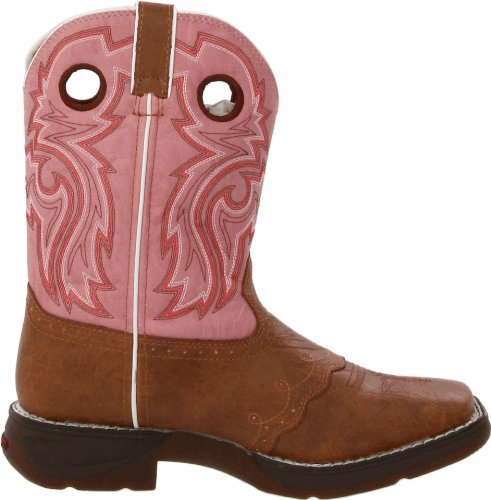 Durango Boots Bottes Lil 'durango Kids Enfants Western Bottes d'équitation (en différentes variantes) Tan Pink