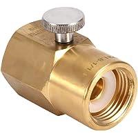 Bouteille de Soda Connecteur CO2 en laiton Adaptateur ménager pour remplissage W21.8 à G1/2 Cylindre d'eau Gonflable