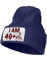 c8d8a96bb1259 CHKWYN Women s Men s Knitted Hat Roger Federer Cap Street Dance Hat Gray