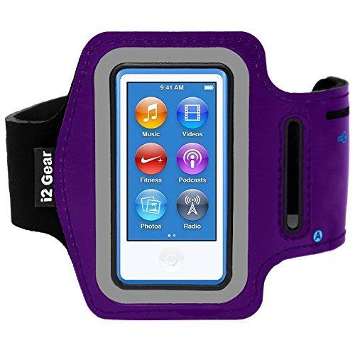 i2 Gear Armband für Ipod Nano 7. Generation & 8. Generation (Lila) (Ipod Armband Lila)