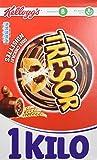 Kellogg's Céréales Trésor Chocolat Noisette 1 kg - Lot de 3