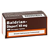 Baldrian-Dispert 45 mg Tabletten, 100 St.