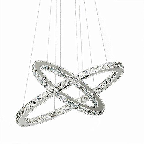 48W LED Lámpara de techo colgante con diseño creativo en cristal Ara