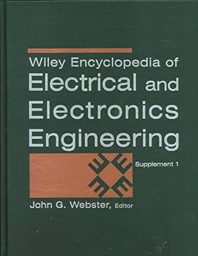 [(Encyclopedia of Electrical and Electronics Engineering: Update 1)] [By (author) J. G. Webster] published on (April, 2000)
