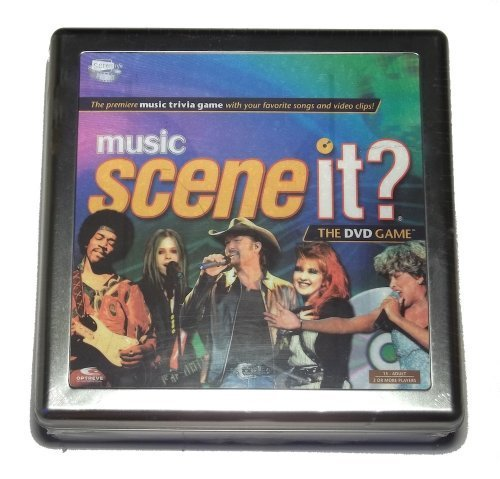 Music Scene It? The DVD Game by Screen Life