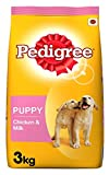 #6: Pedigree Puppy Dog Food Chicken & Milk, 3 kg Pack