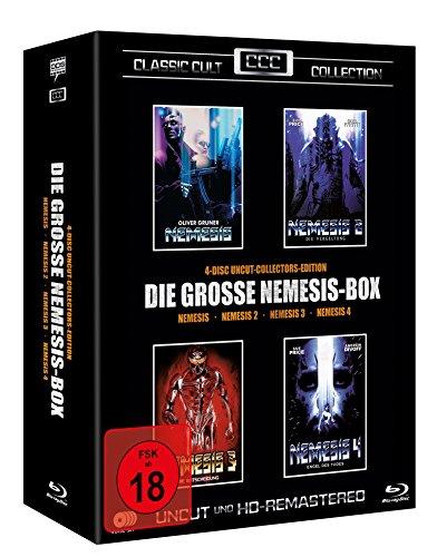 Nemesis Box - Teil 1-4 - Classic Cult Edition [Blu-ray]