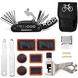 Kit di strumenti di riparazione per bici mini Kit di attrezzi per bici 16 in 1 Essential Set di attrezzi per biciclette Kit di riparazione per biciclette Kit di attrezzi per biciclette Kit