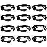 AUTOECHO Basketball Sport Ansicht Anti-Blocking Training Sportbrille Brille für Radfahren Basketball Fußball Hockey Rugby Sonnenbrille mit Verstellbaren Riemen (1 STÜCKE/3 STÜCKE/6 STÜCKE/12 STÜCKE) Vergleich