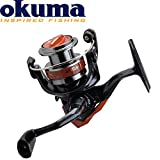 Okuma Aura-30 - Angelrolle zum Spinnfischen & Ansitzangeln, Stationärrolle für Raubfisch & Friedfisch, Forellenrolle, Spinnrolle