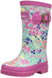 Joules Full Length Welly, Girls' Knee-High Boots