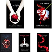 Twilight Series by Stephenie Meyer (Set of 5 Books)