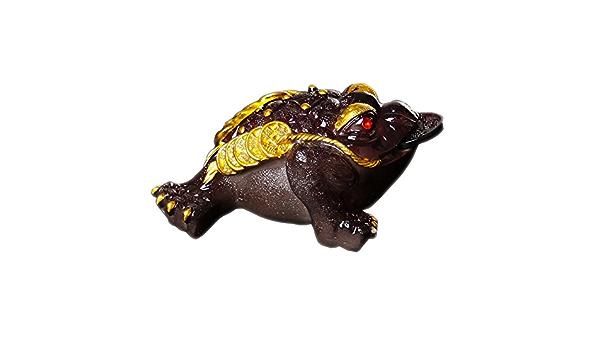 Bon Cadeau pour Les Amateurs de th/é Black Temptation Animal de th/é Chinois Zisha Lucky Money Toad