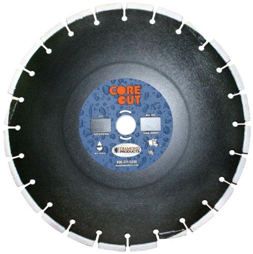 Diamant Produkte Core Schnitt 28175dia Premium geheilt Beton Diamant Klinge, 12Zoll x 0,95° cm sledrunner X 1, schwarz 12 Zoll Beton-sägeblatt