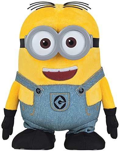 Minion Dave Walk N Talk Plush - Despicable Me 3 - 19cm 7.5""
