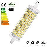 R7S LED 118mm - LED dimmerabile - Equivalente a Alogena 150W (18W, 2400lm, Colore Luce: 4000K), Lampadina a LED Bianco Neutro [Classe energetica A++] (1*Lampada)