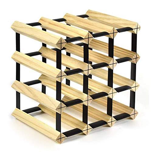 Semplicità creativa portabottiglie cesto per gabbia in legno di grandi dimensioni home soggiorno semplicità creativa cantina armadietto vetrina deco semplicità creativa portabottiglie 16 bottiglie in