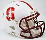 Riddell NCAA Stanford Cardinal Speed Mini Casco, pequeño, Color Rojo