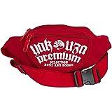 Yakuza Premium 2161 Gürteltasche Hip Pack Bumbag Waistbag Bauchtasche, Größe:one size;Farbe:rot