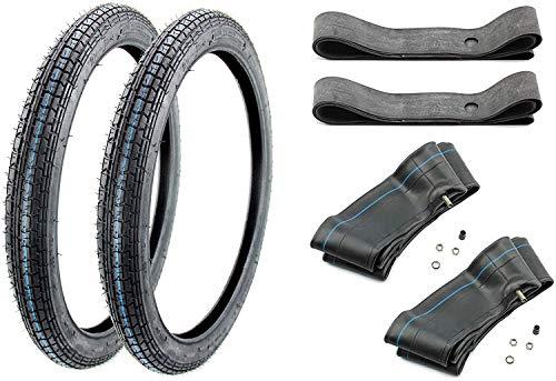 2x Reifen Kenda 2,25 x 19 + 2x Schlauch + 2x Felgenband - K 251 -