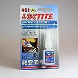 Loctite 401 - Handfestigkeit 3-10 Sek. Sekundenkleber Kleber - 5g -Sofortklebstoff