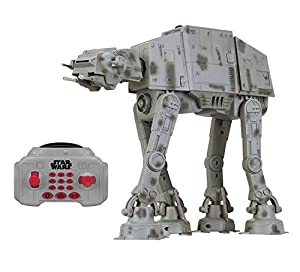 STAR WARS - Vehículo con luz y Sonido u-Command AT-AT, 25 cm (Thinkway 31065)
