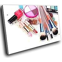 Bild Bilder auf Leinwand Arbeiten Sie bunte Lippenstift-Berufsverfassu HYZ