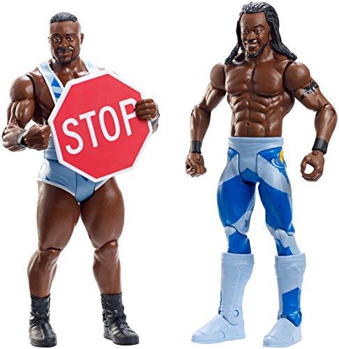 Figur WWE Big E & Kofi Kingston Battle Pack Serie 36 (Wwe Figuren Big Pack)