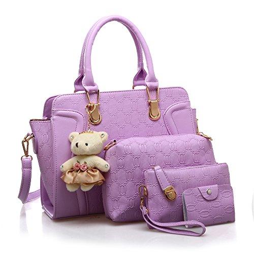 ZUNIYAMAMA, Borsa a mano donna M Purple