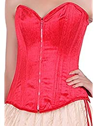 a9a3c7af175 Amazon.in  Reds - Bustiers   Corsets   Lingerie  Clothing   Accessories