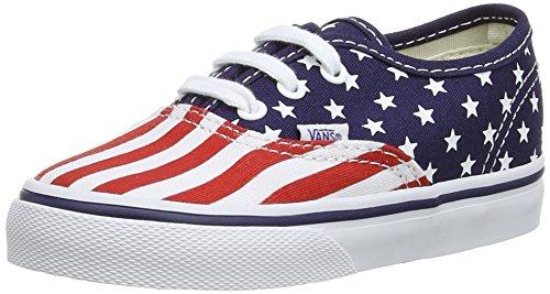 Vans Skateboard Authentic Scarpe Sportive, Unisex Bambini Multicolore (Stars/Stripes)