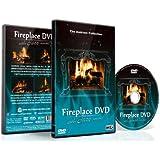 DVD Cheminée Jazz - Cheminées romantiques avec musique jazz pour les dîners entre amis - Filmé en haute définition
