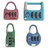 Best Combination Locks - Combination Lock 3 Digit Padlock - Pack of Review