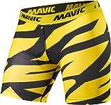 Mavic Deemax Pro Fahrrad Innenhose kurz gelb/schwarz 2019: Größe: M (48/50)