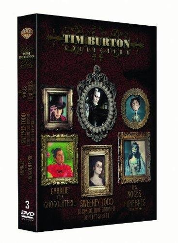 Coffret Tim Burton 3 DVD