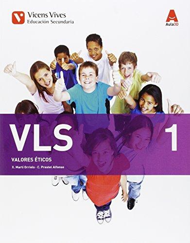 Vicens Vives VLS - VALORES ETICOS ESO, AULA 3D, 1 ESO [Comunidad de Galicia]: 000001 - 9788468232355