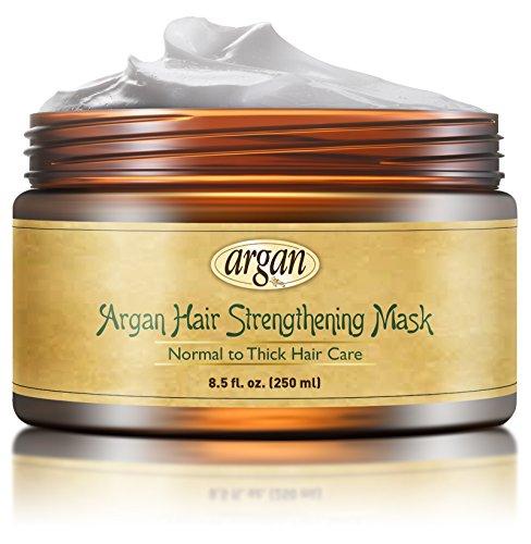 Intensive Hair-repair-therapie (Vitamins Aufbauende Deep Conditioner Haarmaske für dickes strapaziertes Haar. Marokkanisches Argan Öl zum Aufbau von verdünnendem Haar)