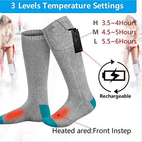 Chaussettes-chauffantes-Chaussettes-lectriques-Rechargeable-Chaussettes-Chaussettes-chauffantes-hiver-Chauffe-pieds-isols-thermiques-pour-hommes-Femmes-Chasse-en-plein-air-randonne-boules-de-neige